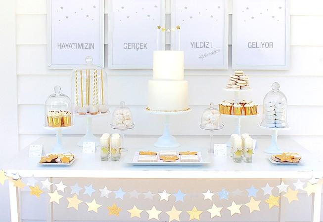 babyshower parti star yıldız