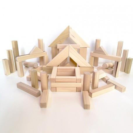 ahşap inşaat blokları