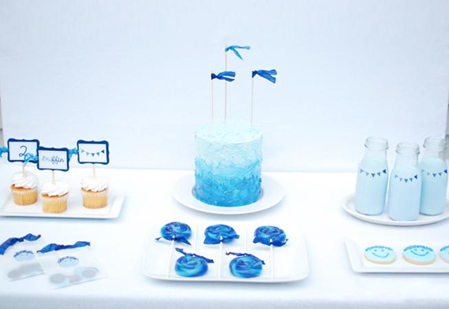 doğum günü partisi 2 yaş rüzgar mavi deniz
