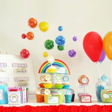 Rengarenk bir Doğum Günü : Eren'in Gökkuşağı